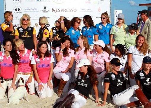 Abigail Beaux polo team